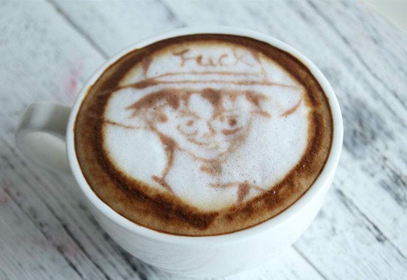 咖啡拉花练习,学做拉花咖啡,拉花咖啡的做法丨咖啡培训
